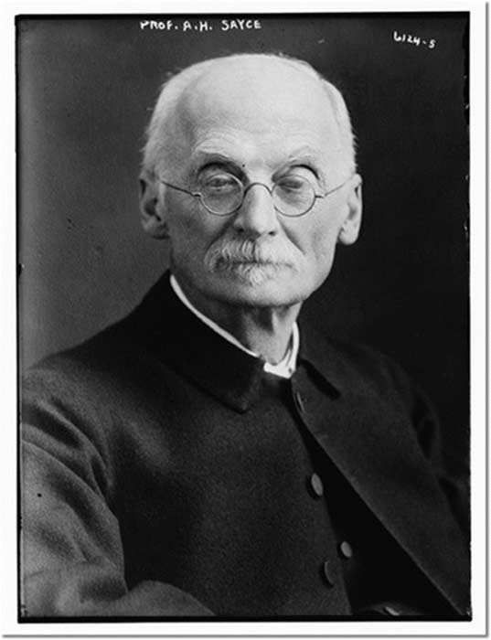 Prof. A.H. Sayce