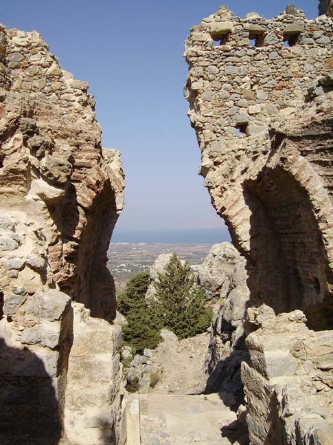 Pyli Castle commands a 360-degree view of the entire northern part of Kos Island. (Public Domain)