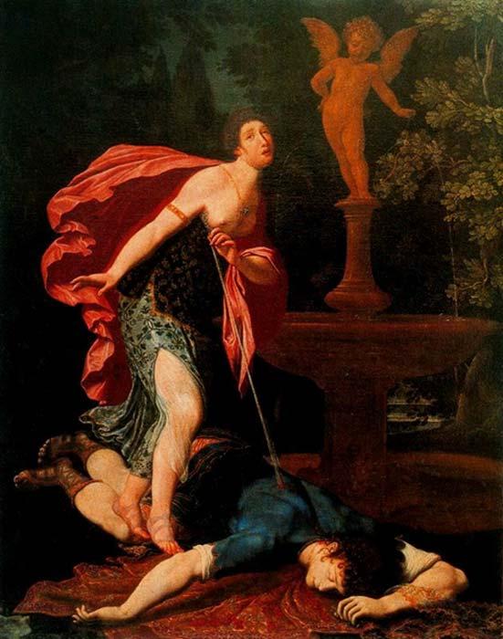 Pyramus and Thisbe.