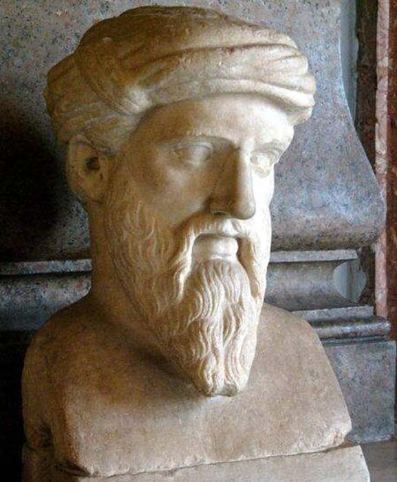 Pythagoras helped shape the Greek alphabet