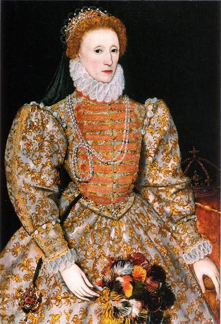 Queen Elizabeth I of England. (Public domain)