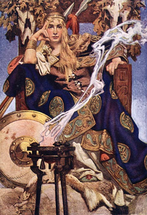Queen Medb of Connacht by J. C. Leyendecker