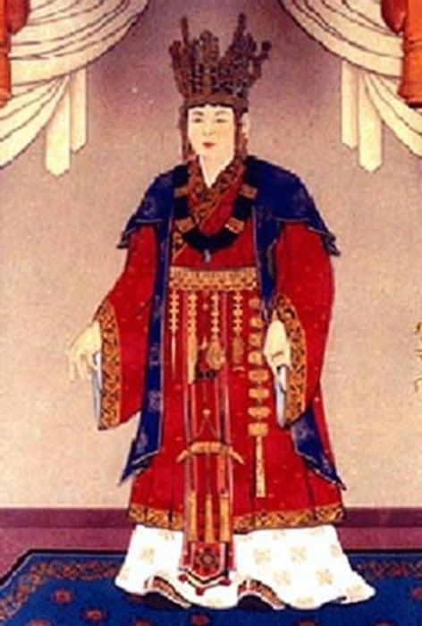Queen Seondeok of Silla (Public Domain)