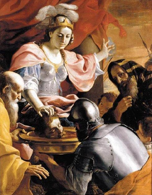 Queen Tomyris of the Massagetae receiving the head of Cyrus the Great. (Mattes / Public Domain)