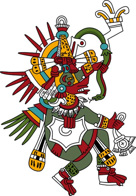 Quetzalcoatl, God of Wisdom (CC BY 3.0)
