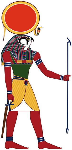 Ra-Horakhty, the Egyptian god was the god of sun and kings. (Perhelion / CC BY-SA 3.0)