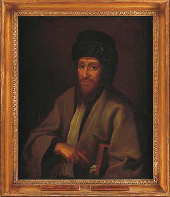 Rabbi Tzvi Hirsch ben Yaakov Ashkenazi (1714). (Public Domain)