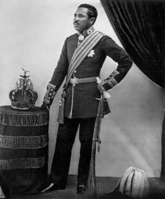 Rakoto, Queen Ranavalona's son, plotted against her unsuccessfully more than once but still rose to the throne. (William Ellis / Public domain)
