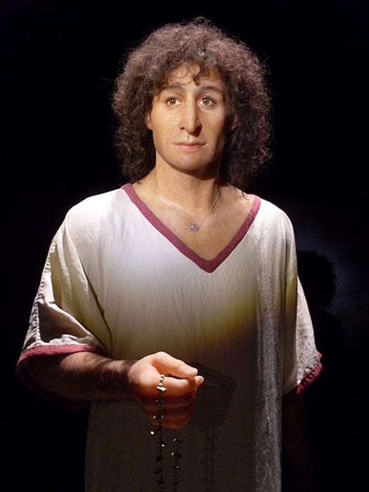 Reconstruction of the Young Man of Byrsa.