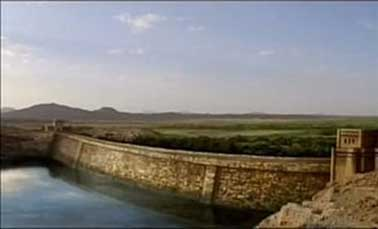 Redesign of what Marib Dam was by the University of Calgary and the American Foundation for Anthropology.