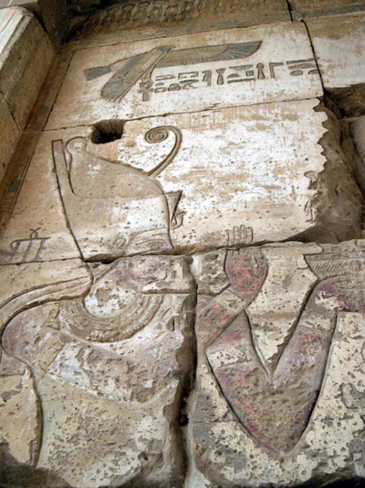 Relief of Darius I of Persia, as Pharaoh of Egypt