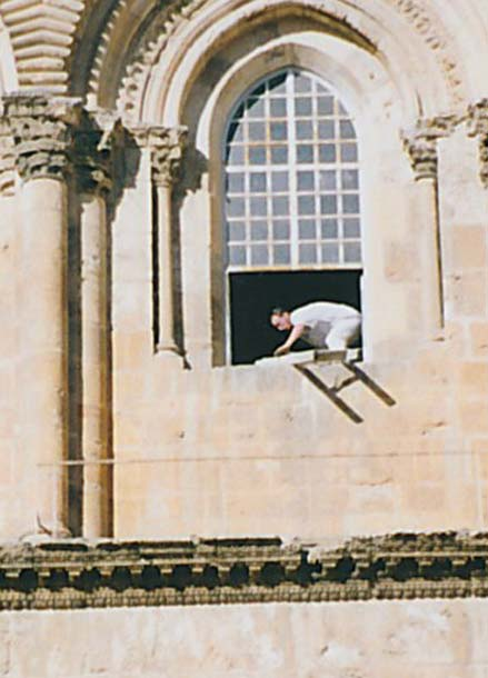 Removal of the Ladder in 1997.