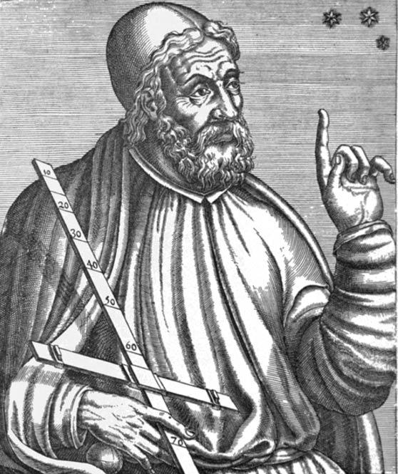 Representation of Ptolemy.
