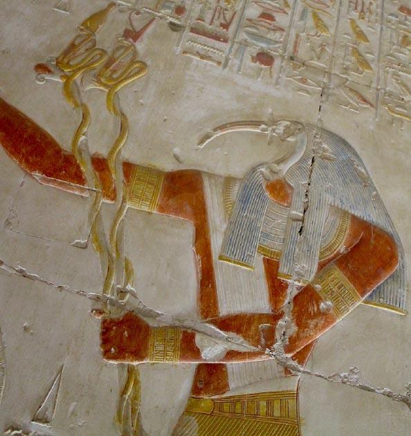 Representation of Djehuty, some of the tombs belonged to high priests of Djehuty. (Tatiana Matveeva / CC BY-SA 2.0)