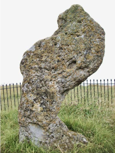 The King Stone at Rollright Stones in Warwickshire, England (Poliphilo/Wikimedia Commons