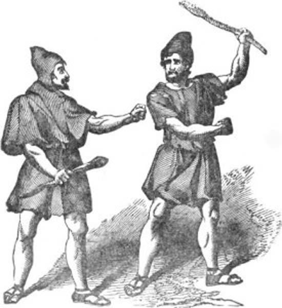 Image of Roman Plebeians.