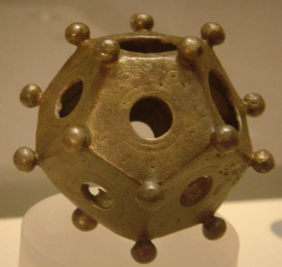 A Roman dodecahedron found in Bonn, Germany