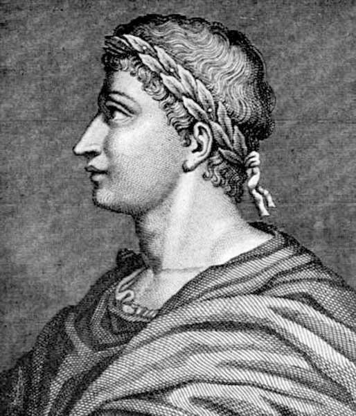 Roman poet, Publius Ovidius Naso - Ovid. (Public Domain)