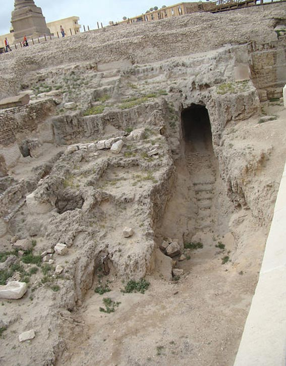 Ruins of a Serapeum, Alexandria, Egypt