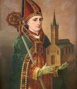 Saint Ansgar, Christian monk