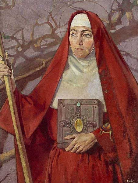 Saint Brigid. (Public Domain)