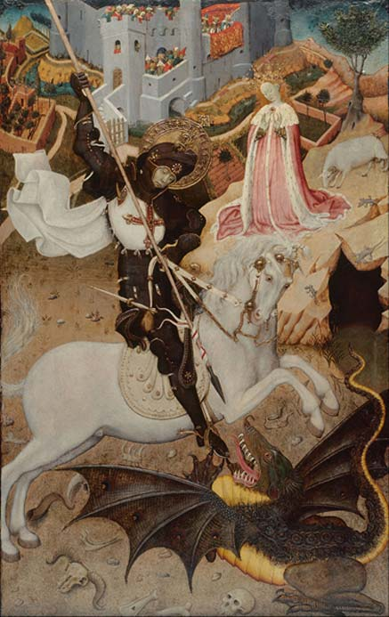 Saint George Killing the Dragon (1435)