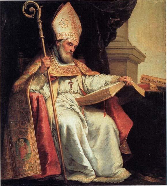 'Saint Isidor of Sevilla' (1655) by Batolomé Esteban Murillo.