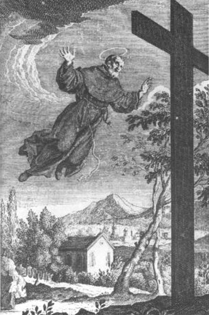 Saint Joseph of Cupertino is believed to be a flying saint in Christian tradition.