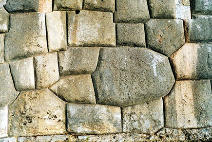 The magnificent interlocking stones at Saksaywaman