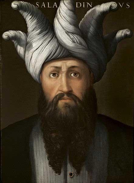 'Saladino', by Cristofano dell'Altissimo, before 1568. (Public Domain)