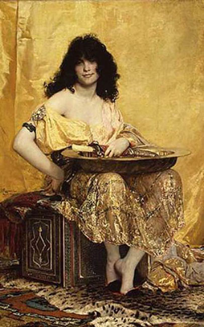 'Salomé' (1870) by Henri Regnault.