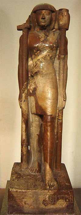 Sandstone statue of Khaemweset, son of Ramesses II and high priest of the Temple of Ptah at Memphis, from the 13th century BC. (British Museum / Public domain)