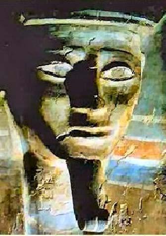 Sarcophagus of Kamose, Cairo Egyptian Museum.