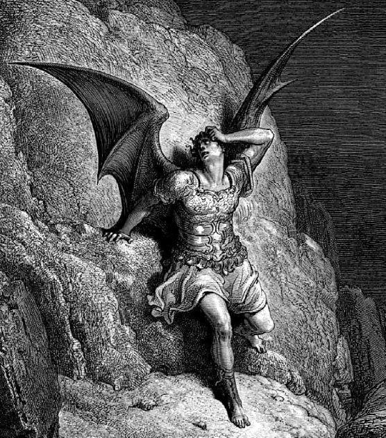 Satan, whom the Cathars believed was the God of the Old Testament. (Dencey / Public Domain)