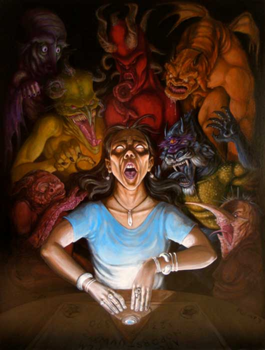 Talking Boards: Terrifying Tales of Ouija Boards and Demons
