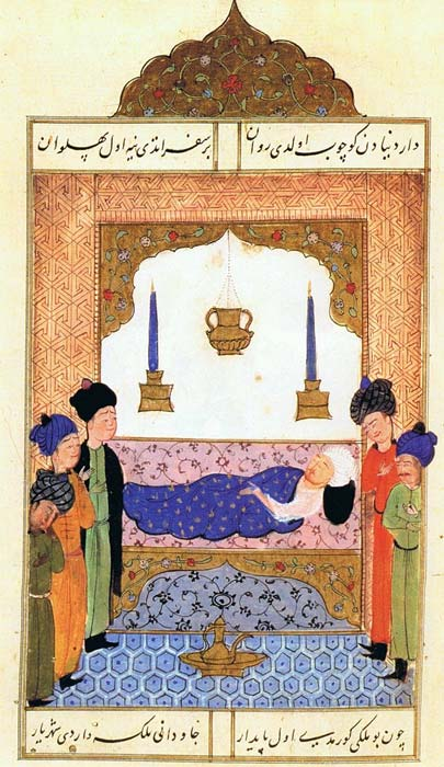 Selim I on his deathbed
