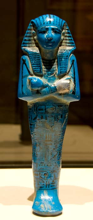 Seti I Shabti in the Louvre