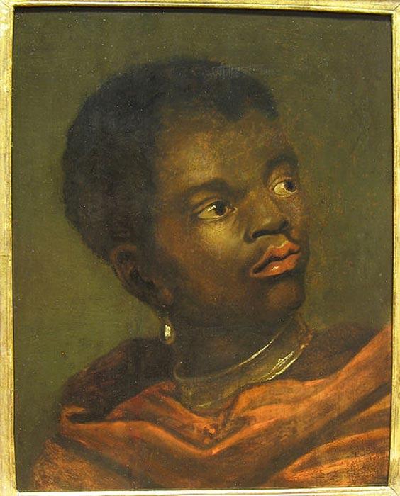Slave wearing a collar (Shanker Pur / CC BY-SA 3.0)
