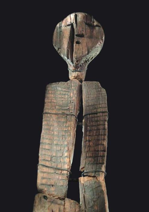 Shigir Idol. (Alistair Coombs)