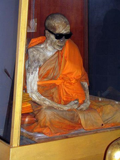 A Shindon monk who achieved self-mummification