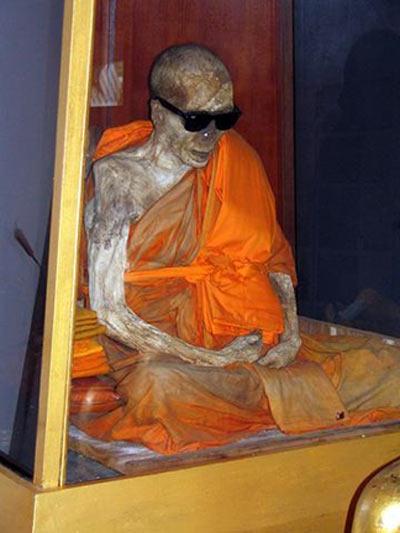 A Shindon monk who achieved self-mummification