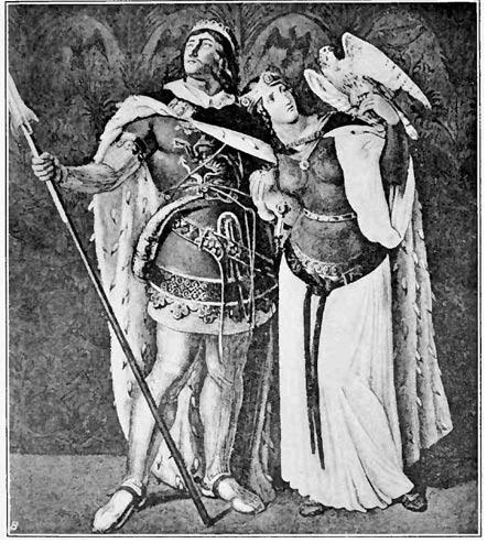 Siegfried and Kriemhild. 1914