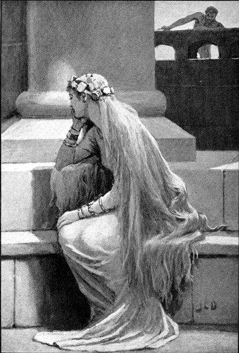 Sif (1909) by John Charles Dollman.