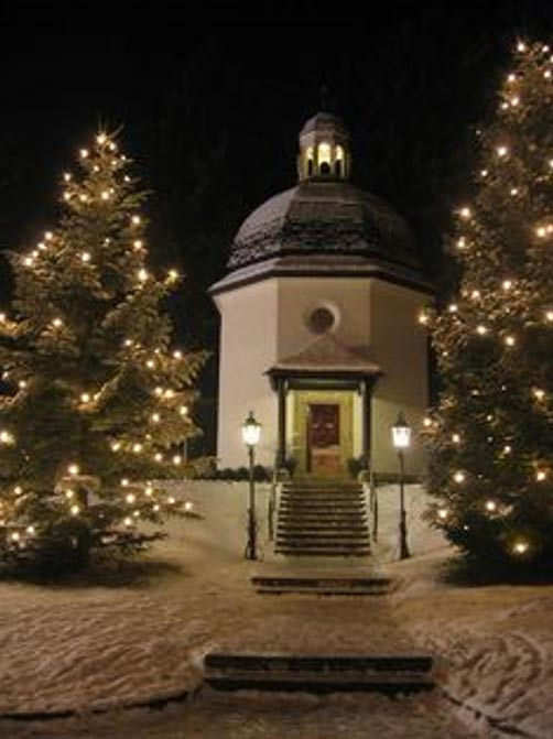 Silent Night Memorial Chapel, Oberndorf, Austria.