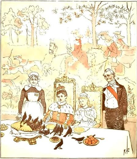 Sing a Song of Sixpence (1890) (Wikimedia Commons)