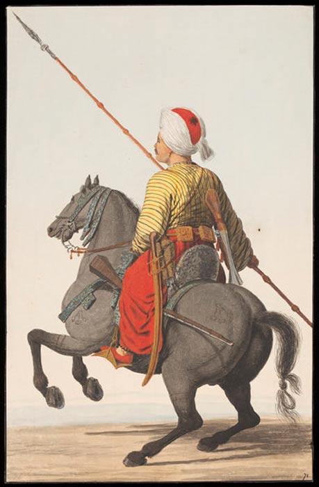 A Sipahi cavalryman. (c. 1809)