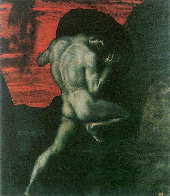 'Sisyphus' (1920) by Franz Stuck.