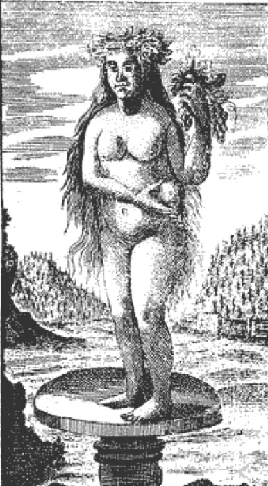 Siwa. Westphalen's book print, 1740. (Public Domain)
