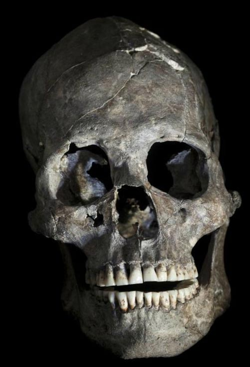 Skull number 26, found in Lapa do Santo, Brazil.