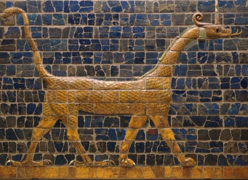 Snake-Dragon, Symbol of Marduk - Ishtar